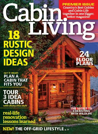 Cabin Living Cover