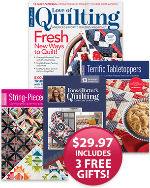 Love Of Quilting Subscribe Today