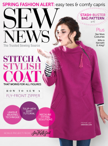 Sew News - Subscribe Now!