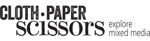 Cloth Paper Scissors Magazine Logo