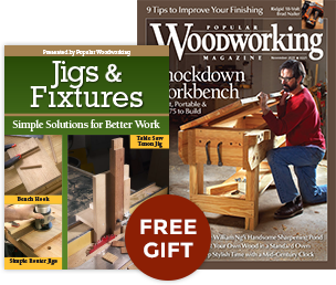 Free Gift - Jigs & Fixtures: Simple Solutions for Better Work