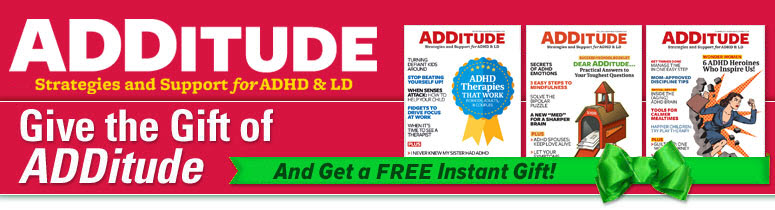 Give ADDitude!