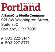 Portland Monthly, A SagaCity Media Company