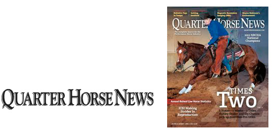 Quarter Horse News Magazine