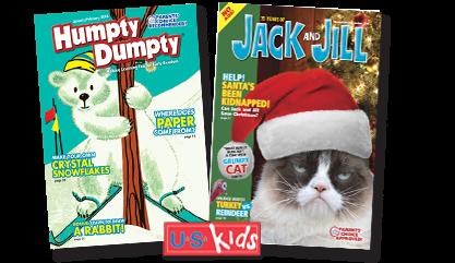 U.S. Kids Magazine Covers