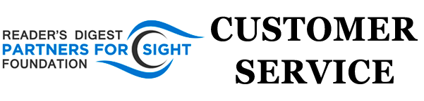Reader's Digest  Partners for Sight Customer Service