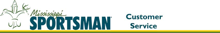 Banner Logo - Mississippi Sportsman Customer Service
