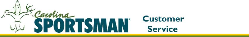 Banner Logo - North Carolina Sportsman Customer Service