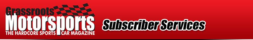 Banner Logo - Grassroots Motorsports Customer Service