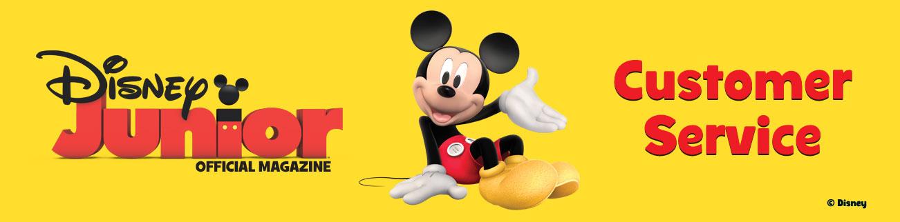 Banner Logo - Disney Junior Customer Service