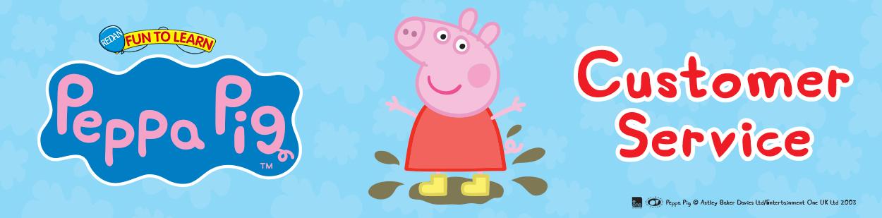 Banner Logo - Peppa Pig Customer Service