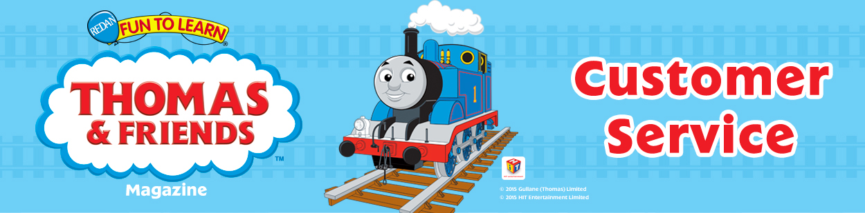 Banner Logo - Thomas & Friends Customer Service