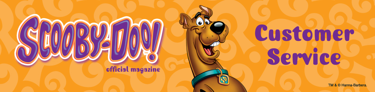 Banner Logo - Scooby-Doo! Customer Service
