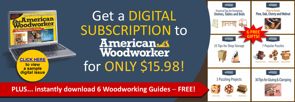 American Woodworker for just $15.98