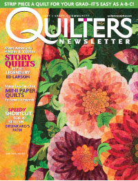 Quilters Newsletter - Subscribe Now!