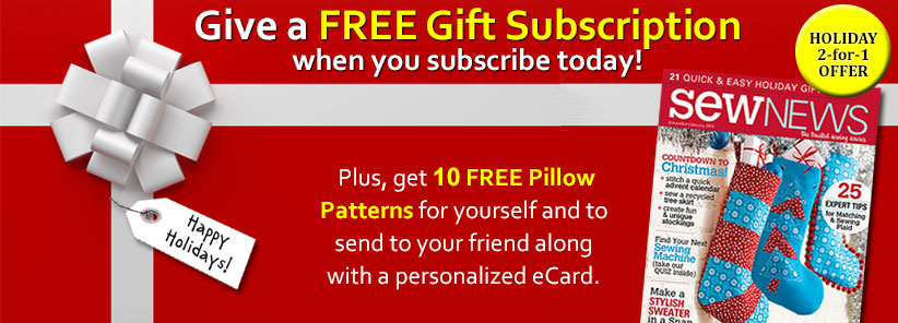 Renew + Free Gift - Sew News